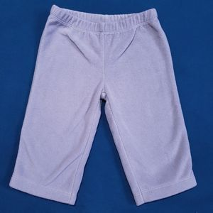 3-6M Carter's Fleece Pants Joggers Grey